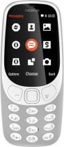 Tlačítkový telefon Nokia 3310 2017, šedá