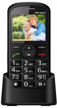 Tlačítkový telefon pro seniory CPA Halo 11, černá POUŽITÉ
