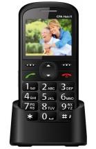 Tlačítkový telefon pro seniory CPA HALO 11, černá