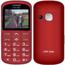 Tlačítkový telefon pro seniory CPA Halo 11 Pro, červená