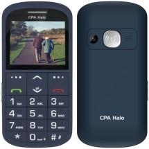 Tlačítkový telefon pro seniory CPA Halo 11 Pro, modrá