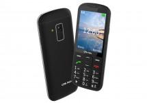 Tlačítkový telefon pro seniory CPA Halo 18, černá