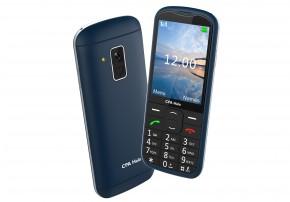 Tlačítkový telefon pro seniory CPA Halo 18, modrá OBAL POŠKOZEN