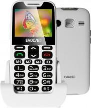 Tlačítkový telefon pro seniory Evolveo EasyPhone XD, bílá