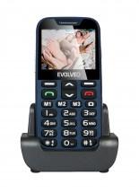 Tlačítkový telefon pro seniory Evolveo EasyPhone XD, modrá