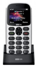 Tlačítkový telefon pro seniory Maxcom Comfort MM471, bílá