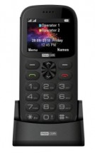 Tlačítkový telefon pro seniory Maxcom Comfort MM471, šedá
