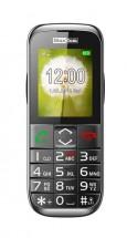 Tlačítkový telefon pro seniory Maxcom MM720, černá