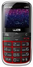 Tlačítkový telefon pro seniory Winner WG15, červená