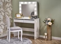 Toaletní stolek Celia (bílá)