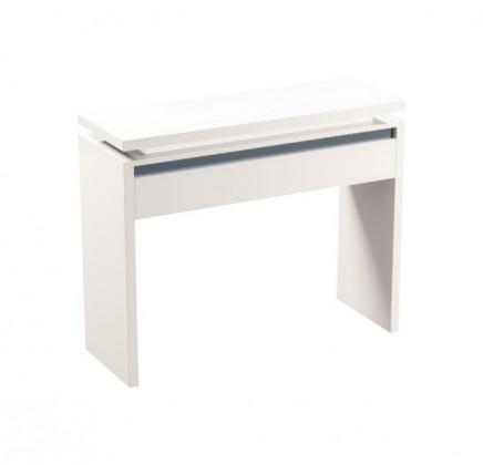 Toaletní stolek Diva - Toaletní stolek (bílá/černá)