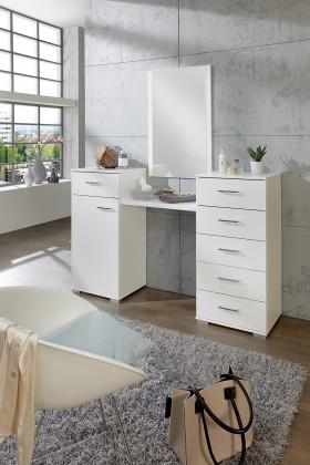 Toaletní stolek Pamela (alpská bílá)