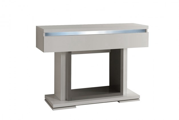 Toaletní stolek Rimini - Toaletní stolek (tmavě šedá/šedá)