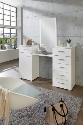 Toaletní stolek Toaletní stolek Pamela (alpská bílá)