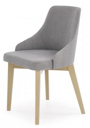 Toledo - Jídelní židle (masiv buk sonoma, látka)