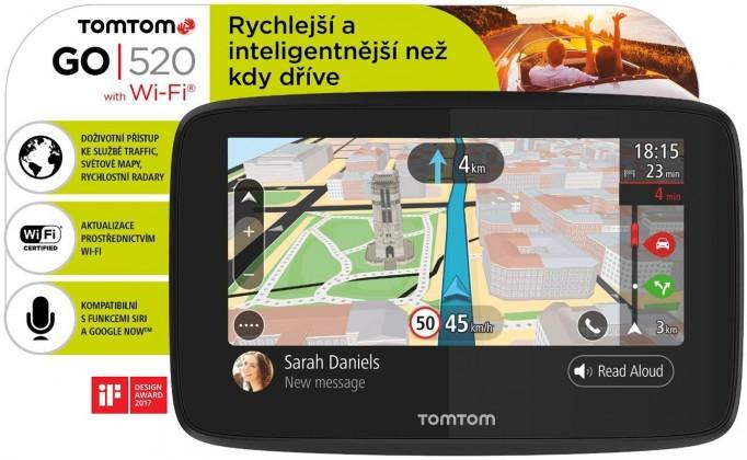 TOMTOM GO 520 World Lifetime 1PN5.002.01