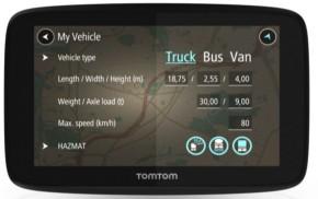 TomTom GO Professional 520 EU, Lifetime (1PN5.002.07) černá