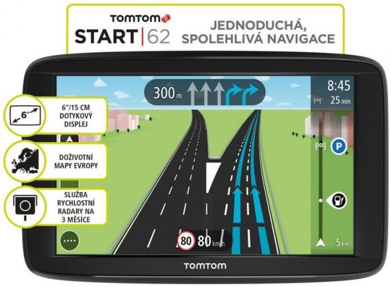 TomTom START 62 Europe Lifetime
