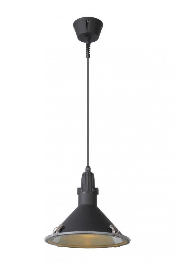 Tonga - stropní osvětlení, 60W, E27 (černá)