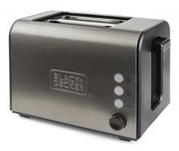 Topinkovač Black+Decker BXTO900E, 900W, nerez