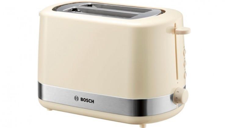 Topinkovač Topinkovač Bosch TAT7407,800W,krémová/nerez