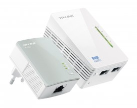TP-LINK TL-WPA4220KIT Powerline adaptéry, 500Mbps, WiFi, set TL-