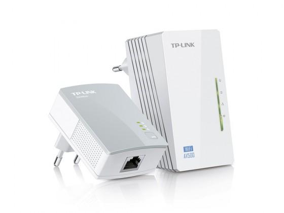 TP-LINK TL-WPA4220KIT Powerline adaptéry, 500Mbps, WiFi, set TL-W