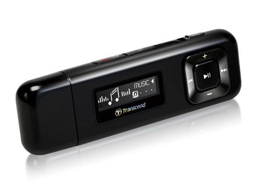 TRANSCEND 4GB Flash MP3 Přehrávač T-Sonic 330