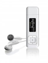 Transcend MP330 8 GB, bílá