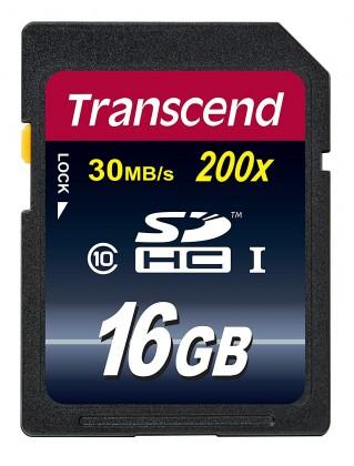 Transcend TS16GSDHC10