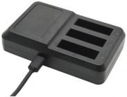 Trojnabíječka NICEBOY pro baterie GoPro HERO 4