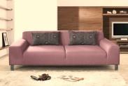 Trojsedák Mirage (mustang 5, fialová, látka, nohy chrom)