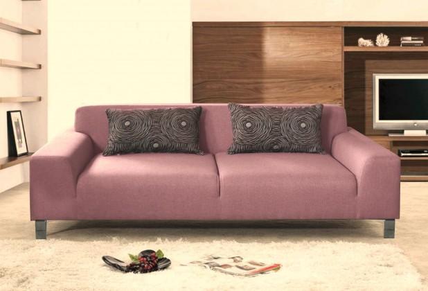 Trojsedák Trojsedák Mirage (mustang 5, fialová, látka, nohy chrom)