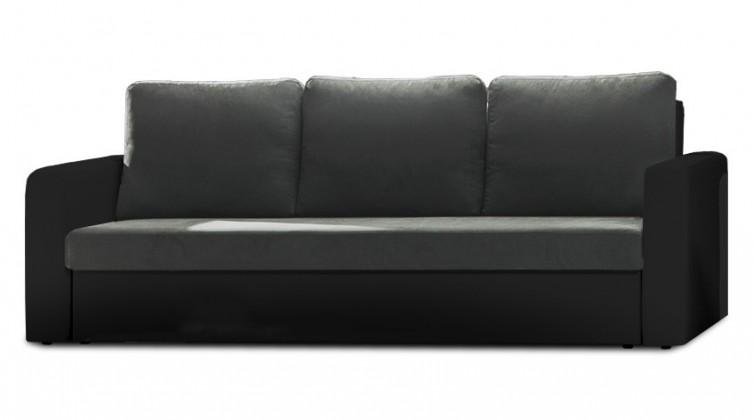 Trojsedák Trojsedák rozkládací Venus (dark grey/pvc black, šedá/černá)