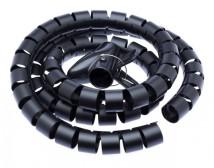 Trubice pro vedení kabelů WINDER Connect IT CI515, 1,5m, černá
