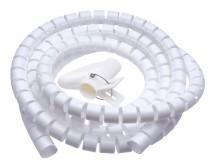 Trubice pro vedení kabelů WINDER Connect IT CI679, 2,5m, bílá