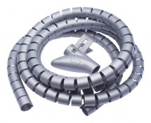 Trubice pro vedení kabelů WINDER Connect IT CI680, 2,5m, šedá
