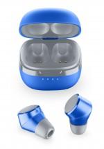 True Wireless sluchátka Cellularline Evade, modrá