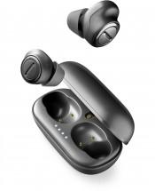 True Wireless sluchátka Cellularline PLUME, černá