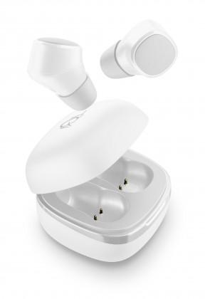 True Wireless sluchátka Cellularline TWS Evade, dobíjecí pouzdro