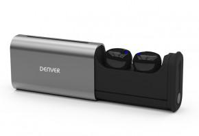 True Wireless sluchátka Denver TWE-60, černá