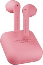True Wireless sluchátka Happy Plugs Air 1 Go, růžová