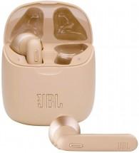 True Wireless sluchátka JBL Tune 225TWS, zlatá