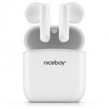 True Wireless sluchátka Niceboy Hive Beans, bílá