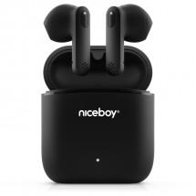 True Wireless sluchátka Niceboy Hive Beans, černá