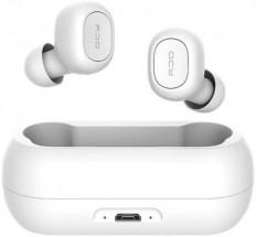 True Wireless sluchátka QCY - T1C, bílá
