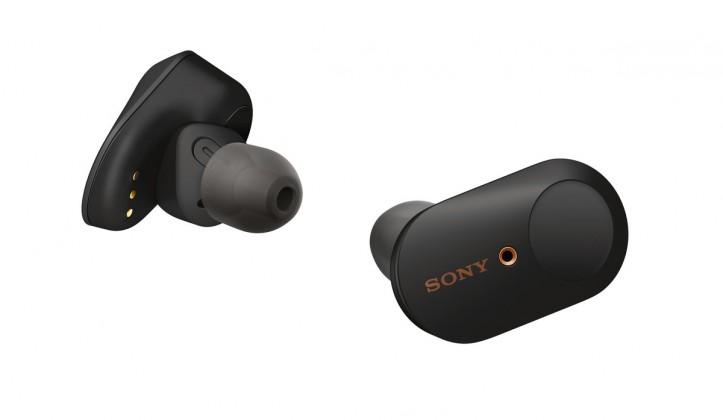 True Wireless sluchátka Sony WF-1000XM3, černá