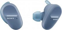 True Wireless sluchátka Sony WF-SP800N, modrá