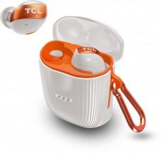 True wireless sluchátka TCL ACTV500TWS bílo-oranžová