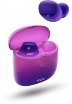 True wireless sluchátka TCL SOCL500TWS fialová